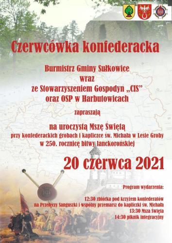 czerwcowka konfederacka 2021 plakat